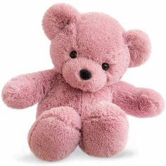 Peluche Ours Coloriage rose (45 cm)