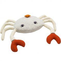 Coussin crabe gris chiné (60 x 50 cm)
