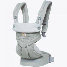 Porte bébé 360 gris perle (4 positions)