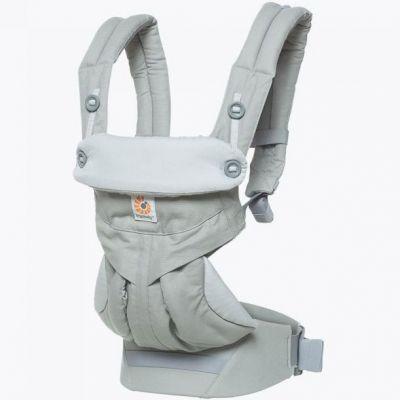 Porte bébé 360 gris perle (4 positions) Ergobaby