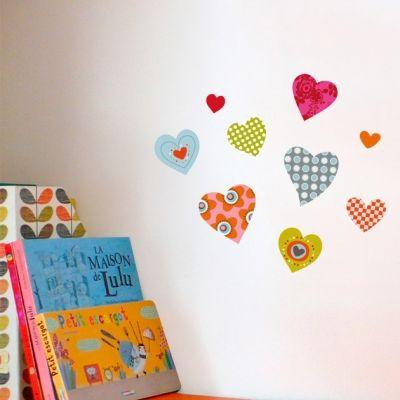 Stickers Petits coeurs  par Série-Golo