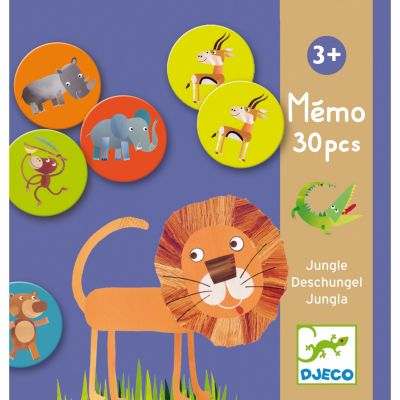 Mémo jungle  par Djeco