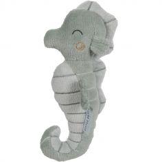 Hochet peluche Hippocampe Ocean mint (17 cm)