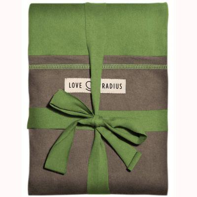 Echarpe de portage L'Originale pistache poche marron