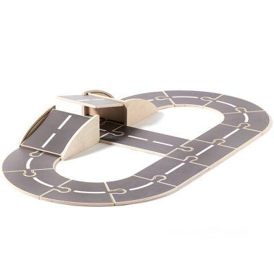 Circuit pour voiture en bois Aiden  par Kid's Concept