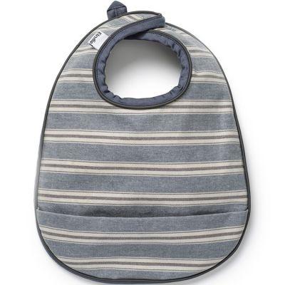 Bavoir à poche Sandy Stripe  par Elodie Details