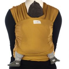 Echarpe de portage Tricot-Slen coton bio amber gold