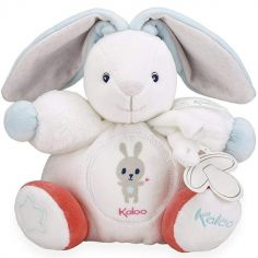Doudou attache sucette Imagine Patapouf Lapinou crème (19 cm)