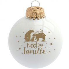 Boule de Noël en Famille