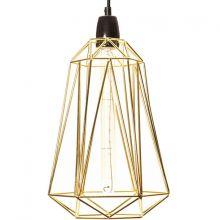 Lampe baladeuse Diamond 5 dorée  par FilamentStyle