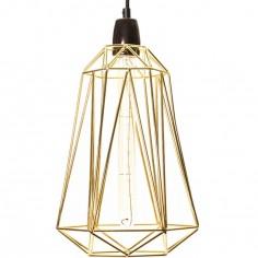 Lampe baladeuse Diamond 5 dorée