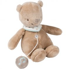 Peluche musicale Basile l'ours (20 cm)