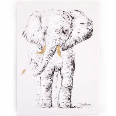 Tableau éléphant (30 x 40 cm)  par Childhome