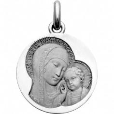 Médaille Maternité Siennoise (or blanc 750°)