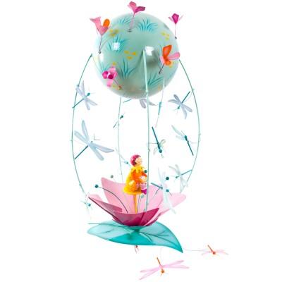 Mobile de décoration Schlumpeters la Fille Nénuphar  par L'oiseau bateau