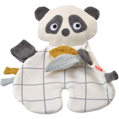 Doudou étiquettes Panda