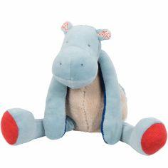 Peluche hippopotame Les Papoum (29 cm)