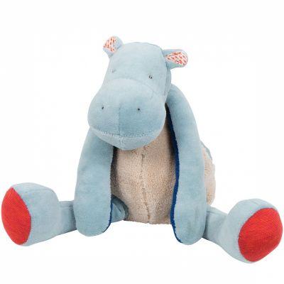 Peluche hippopotame Les Papoum (29 cm)  par Moulin Roty