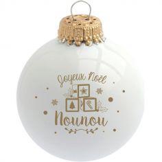 Boule de Noël Joyeux Noël Nounou
