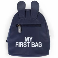 Sac à dos bébé My first bag bleu (23 cm)