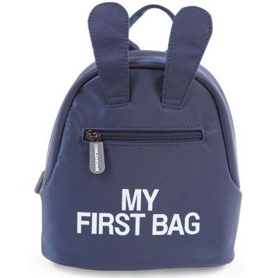 Sac à dos bébé My first bag bleu (23 cm) Childhome