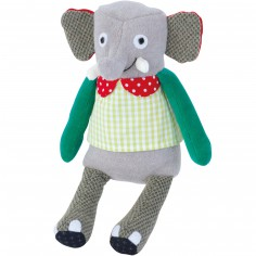 Poupée petit éléphant Les Popipop (19 cm)