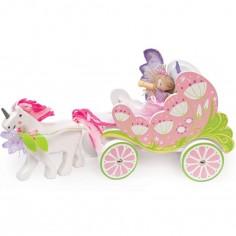 Carrosse et licorne fée Fairybelle