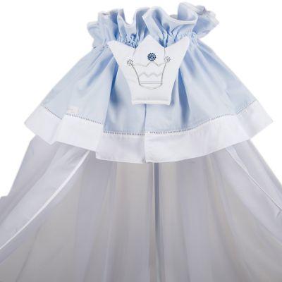 Ciel de lit Mon Prince bleu  par Nougatine