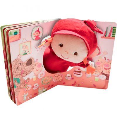 Livre avec marionnette Chaperon Ohey Granny ?  par Lilliputiens