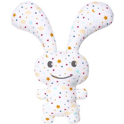 Peluche hochet lapin Funny Bunny étoiles (24 cm)  Trousselier
