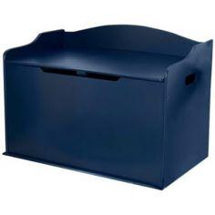 Coffre à jouets Austin bleu myrtille