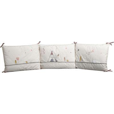 tour de lit timouki pour lits 60 x 120 cm et 70 x 140 cm. Black Bedroom Furniture Sets. Home Design Ideas
