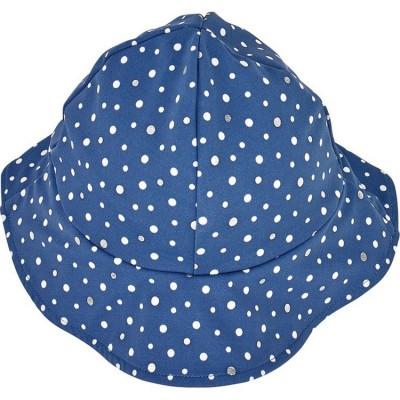 de9ddb1d2afe Chapeau été Bord de mer Cape bleu à pois (18-24 mois) Archimède
