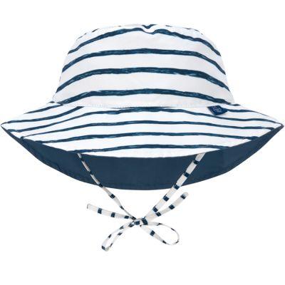 Chapeau anti-UV réversible rayé (18-36 mois)