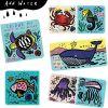 Livre de bain Animaux de l'océan  par Wee Gallery