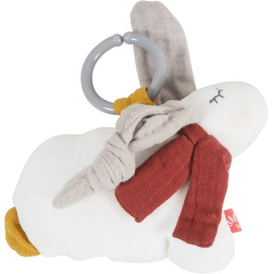 Peluche vibrante Lapin blanc  par Kikadu