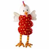 Hochet Ophélie la poule dansante  - Lilliputiens