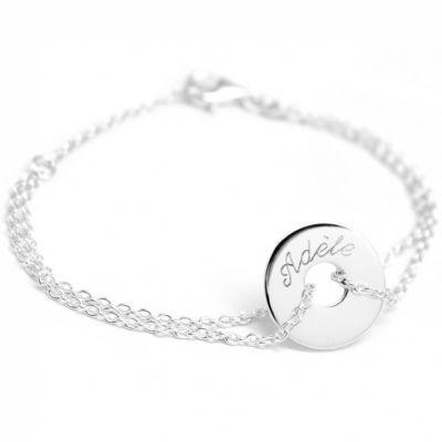 Bracelet Poème (argent 925°)  par Petits trésors