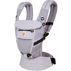 Porte bébé Adapt Cool Air Mesh gris lilas