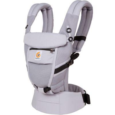 Porte bébé Adapt Cool Air Mesh gris lilas Ergobaby