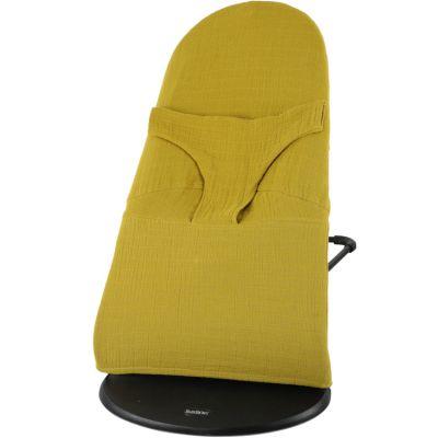 Housse pour transat BabyBjörn Bliss jaune moutarde  par Trixie