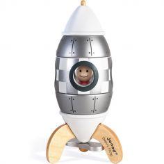 Fusée magnétique argentée (16 cm)