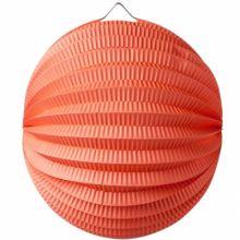 Lampion boule corail  par Arty Fêtes Factory