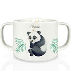 Tasse en porcelaine Panda (personnalisable)