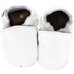 Chaussures de cérémonie blanches (0-6 mois)