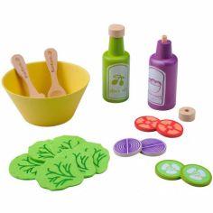 Service à salade en bois