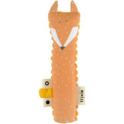 Hochet pouët renard Mr. Fox (16 cm)  par Trixie