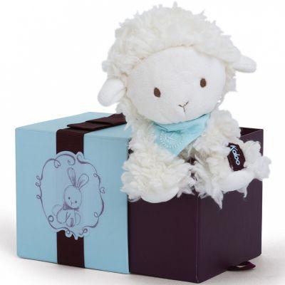 Coffret peluche Vanille l'agneau (19 cm) Kaloo