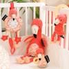 Bavoir bandana Flamingos le flamant rose  par Les Déglingos