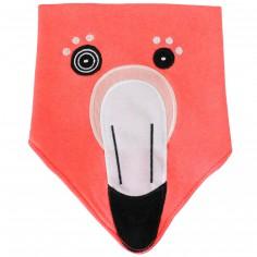Bavoir bandana Flamingos le flamant rose